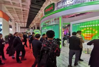 影子科技参加第十届中国国际现代农业博览会硕果累累